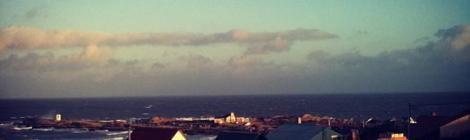 View from El Indio Hostel Punta del Diablo Uruguay