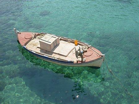 Aegean sea, Crete, Glyco Nero