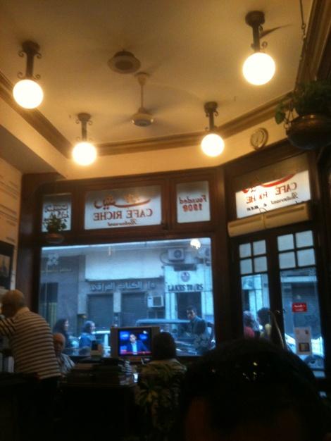 Cafe Riche, Cairo