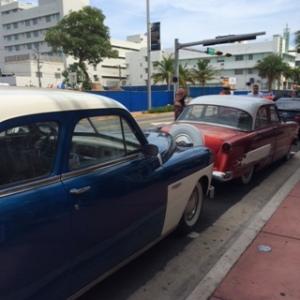 Cadillacs on Washington Avenue.