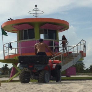 South Beach Lifeguards... enough said.